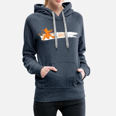 IN LOVE WITH WENG CHUN - Frauen Premium Hoodie