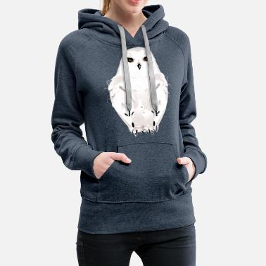 winter animal - Women's Premium Hoodie
