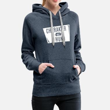Vector Character with Dog Graphic Vector SVG - Women's Premium Hoodie