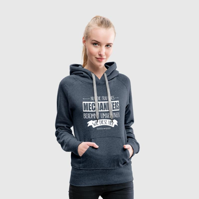 Hände Mechanikers  T-Shirts - Frauen Premium Hoodie