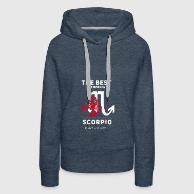 scorpion horoscope birthday october november - Women's Premium Hoodie