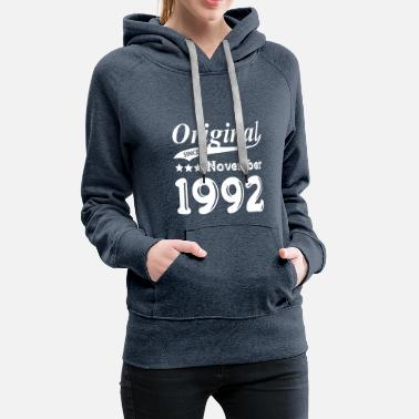 Since Original Since November 1992 - Frauen Premium Hoodie