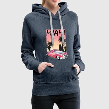 Summer sun beach holiday sea gift idea - Women's Premium Hoodie