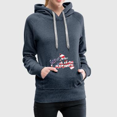 Team Usa USA Curling Team - Frauen Premium Hoodie