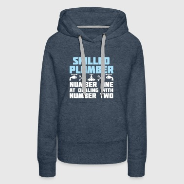 Jobs qualified Plumbing - Women's Premium Hoodie
