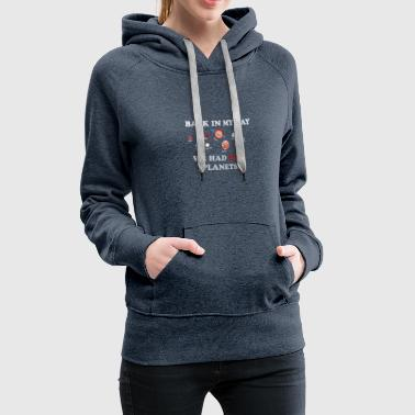 Planet, gift, universe, science, universe - Women's Premium Hoodie