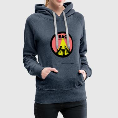 PEACE Work in Progress - Women's Premium Hoodie