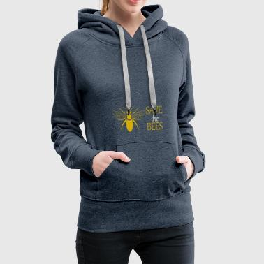 Safe the bees - Secure the bee - Gift - Women's Premium Hoodie