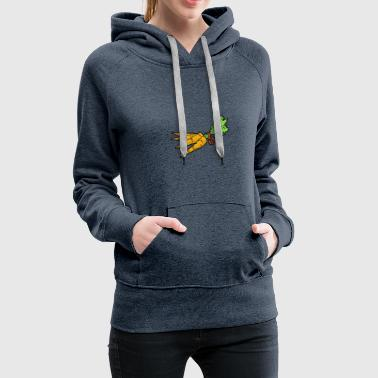 Bunny rabbit carrot Rodent Hare Rodent Hamster - Women's Premium Hoodie
