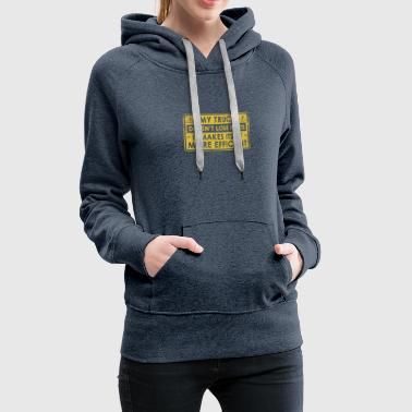 Original Gift For Truck Driver - Women's Premium Hoodie