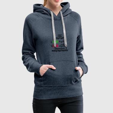 Money really is able to buy happiness - Frauen Premium Hoodie