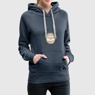 Mining: Mining is like a search-and-destroy - Women's Premium Hoodie