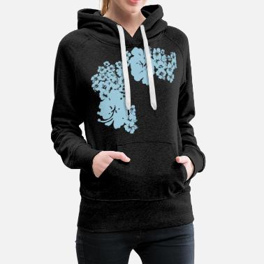 Bloom hawaii flower - Women's Premium Hoodie