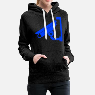Security Service Security Camera - Women's Premium Hoodie