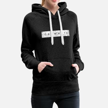 Werewolf Crewmate he is among us gift nerd gaming game - Women's Premium Hoodie