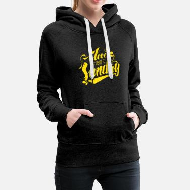 love my sunday - Women's Premium Hoodie