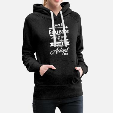 Sport Dogs Education Dog design education - Women's Premium Hoodie