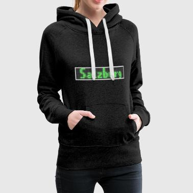 Salzburg LED Display green - Frauen Premium Hoodie