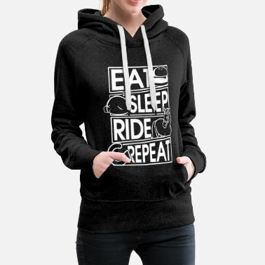 Horse Riding Eat Sleep Ride Repeat Horse Gift Horse Gift - Women's Premium Hoodie