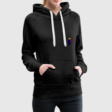 magic cube - mathematics - technique - Women's Premium Hoodie