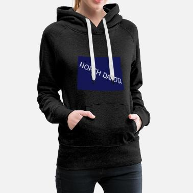 North Dakota North Dakota - Women's Premium Hoodie