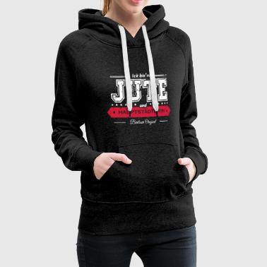 I Love Berlin Berlin saying - I'm a jute - Women's Premium Hoodie