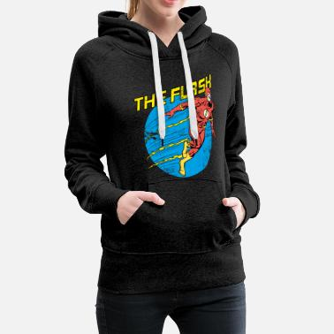Officialbrands DC Comics Justice League The Flash - Frauen Premium Hoodie