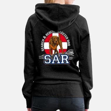Search search and rescue dog 1 - Women's Premium Hoodie
