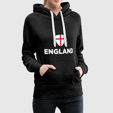 National Flag Of England - Women's Premium Hoodie