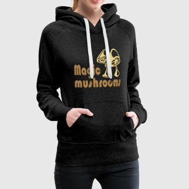 Magic mushrooms - Women's Premium Hoodie