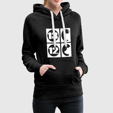 13 bulls and 12 pigs - Women's Premium Hoodie