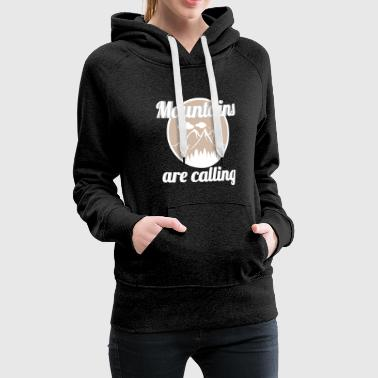 Mountains - Women's Premium Hoodie