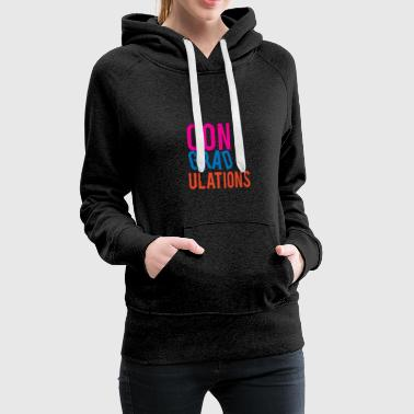 High School / Graduation: Congratulations - Women's Premium Hoodie