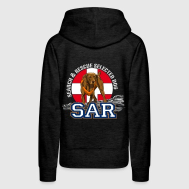 search and rescue dog 1 - Women's Premium Hoodie