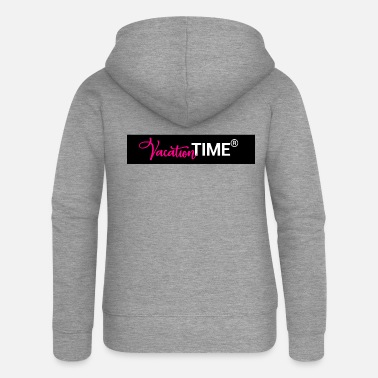 Hotel Beach VACATION TIME HOTEL BEACH PARTY CLUB TRAVEL GIFT - Women's Premium Zip Hoodie