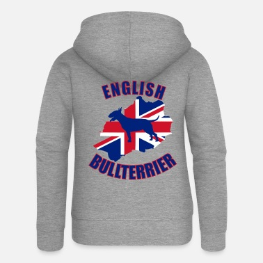 Bull Bull Terrier English Bull Terrier - Women's Premium Zip Hoodie