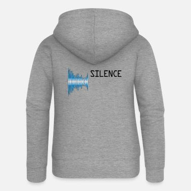 Pollution Sound silence Sound pollution Pollution - Women's Premium Zip Hoodie