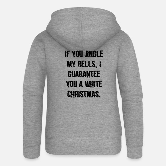 Gift Idea Hoodies & Sweatshirts - If you're new to my Bells Christmas gift - Women's Premium Zip Hoodie heather grey
