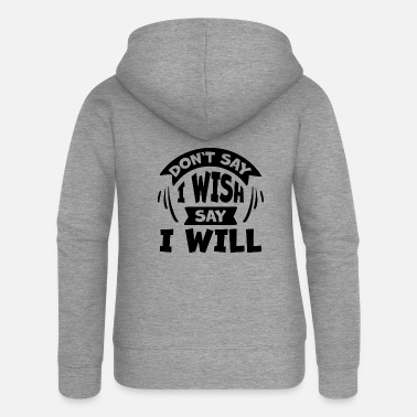 Creative self-confidence - Women's Premium Zip Hoodie
