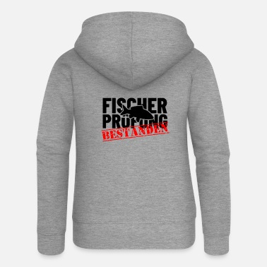 Fishery Fishery examination passed - Women's Premium Zip Hoodie