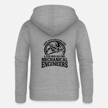 Project Mechanical engineering engineer occupation building student - Women's Premium Zip Hoodie