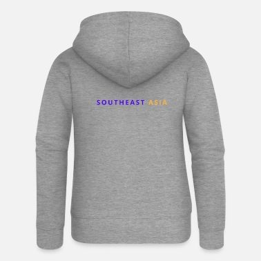 South East Asia South East Asia - Women's Premium Zip Hoodie