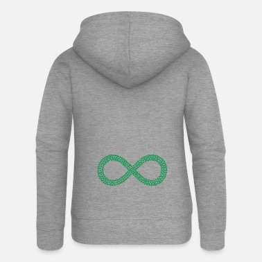 Hemp Infinite hemp - Women's Premium Zip Hoodie