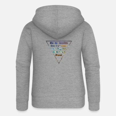 City Cities Big Citys - Women's Premium Zip Hoodie