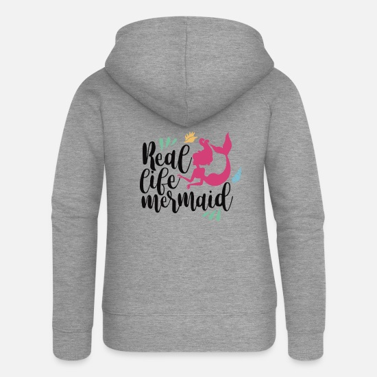 Birthday Hoodies & Sweatshirts - claims - Women's Premium Zip Hoodie heather grey