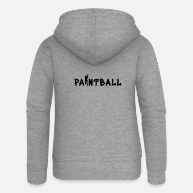 Paintball Paintball 'Paintball Special' - Premium hættejakke dame