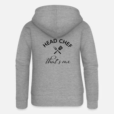 Motivation head chef that's me - Women's Premium Zip Hoodie