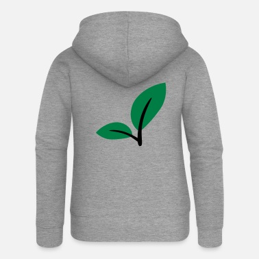 Leaves Leaves - Women's Premium Zip Hoodie
