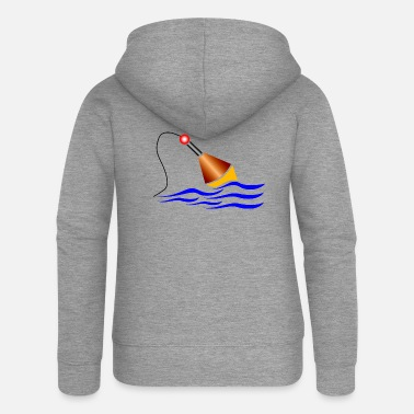 Float fishing float / float - Women's Premium Zip Hoodie