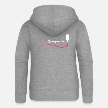 Gold Digger The Sponzorusa knows - Women's Premium Zip Hoodie